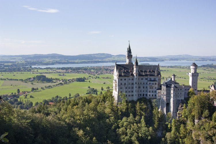 castello neuschwanstein in baviera