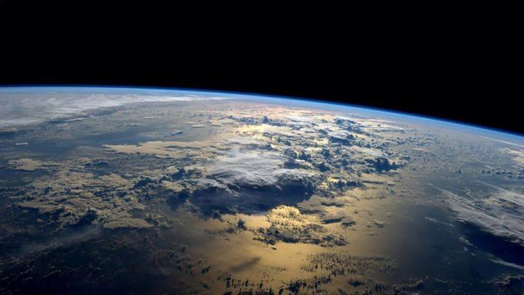 terra vista dalla stazione spaziale iss