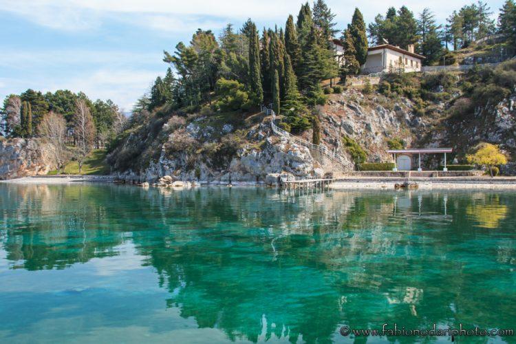 lago ohrid in macedonia del nord