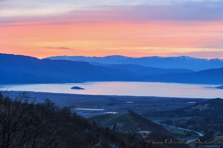 sunset prespa