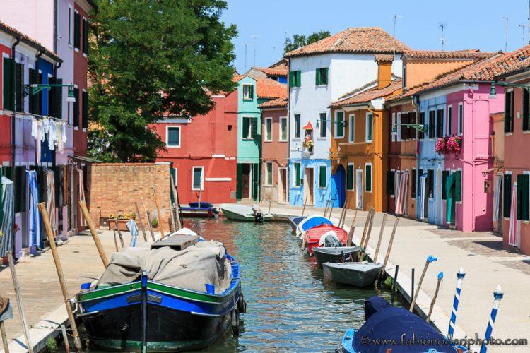 burano vicino venezia