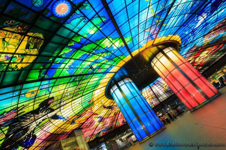 stazione metro formosa boulevard a taiwan