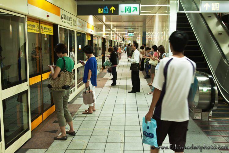 metro a taipei taiwan