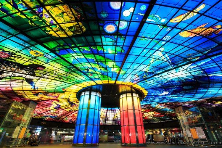 mrt stazione formosa boulevard kaohsiung taiwan