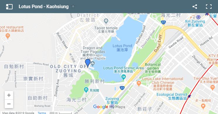 map lotus pond