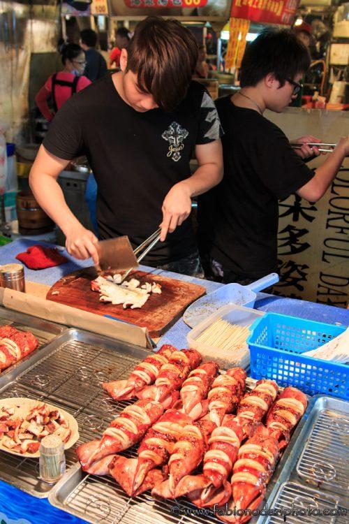 street food nel mercato di ruifeng