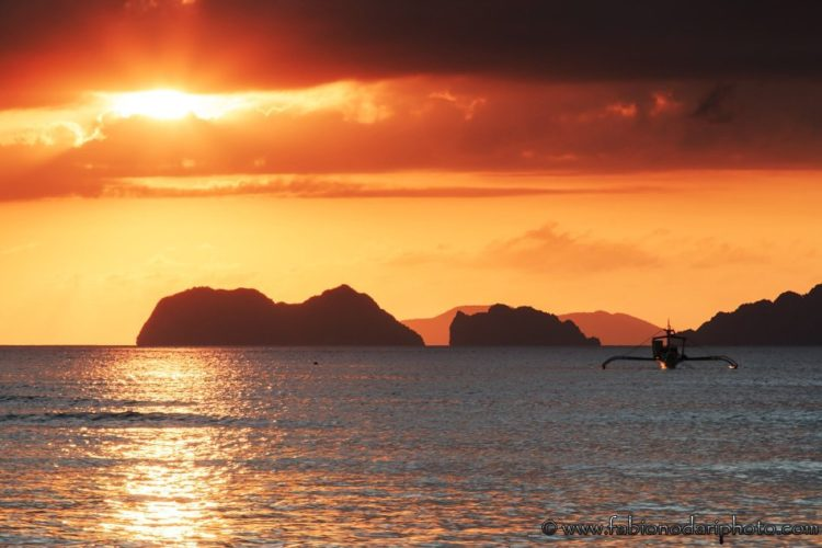 best place for sunset in elnido