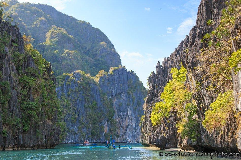 big lagoon, el nido, filippine