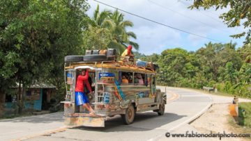 jeepney in palawan