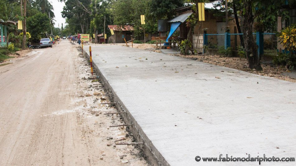 strade nelle filippine