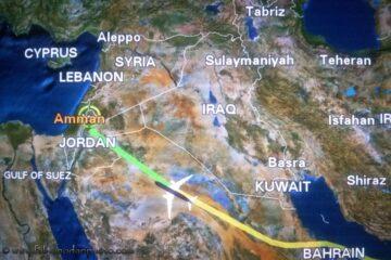 volo per la giordania
