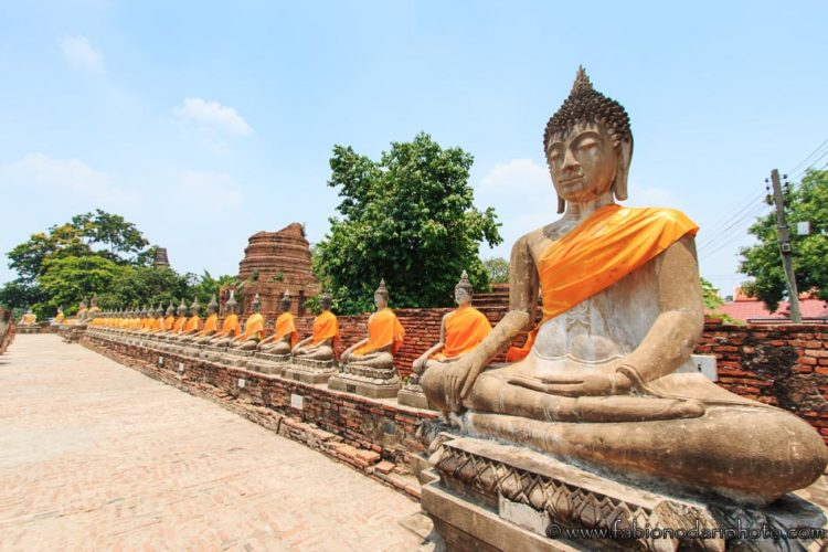 temple in ayutthaya thailand