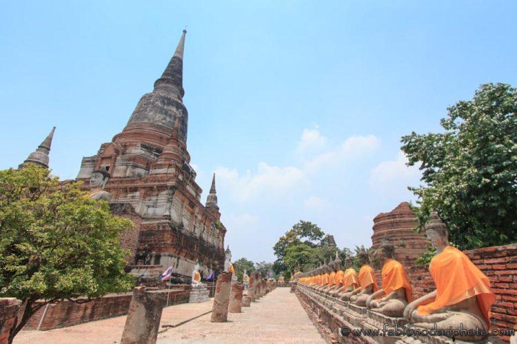 tempio ayutthaya thailandia