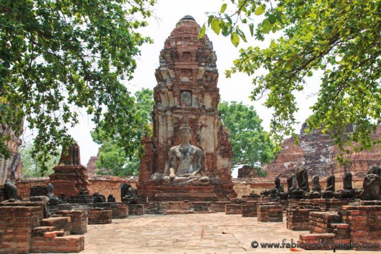 altro tempio ayutthaya thailandia
