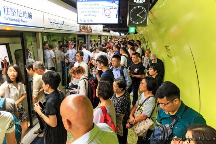 mtr subway in hong kong