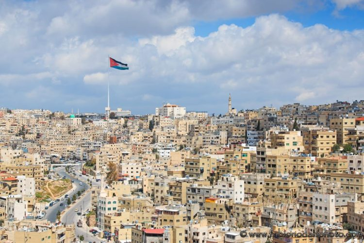 amman skyline in jordan