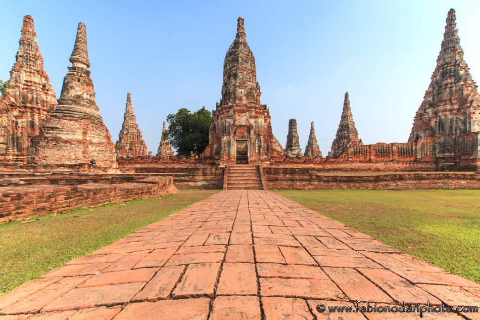main temple in Ayutthaya in thailand