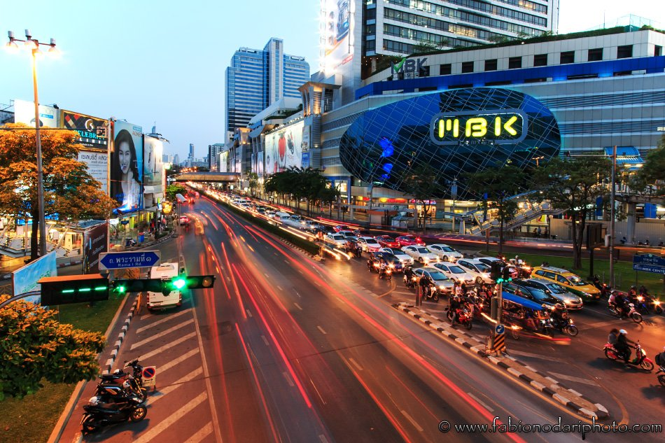 bangkok by night and mbk mall