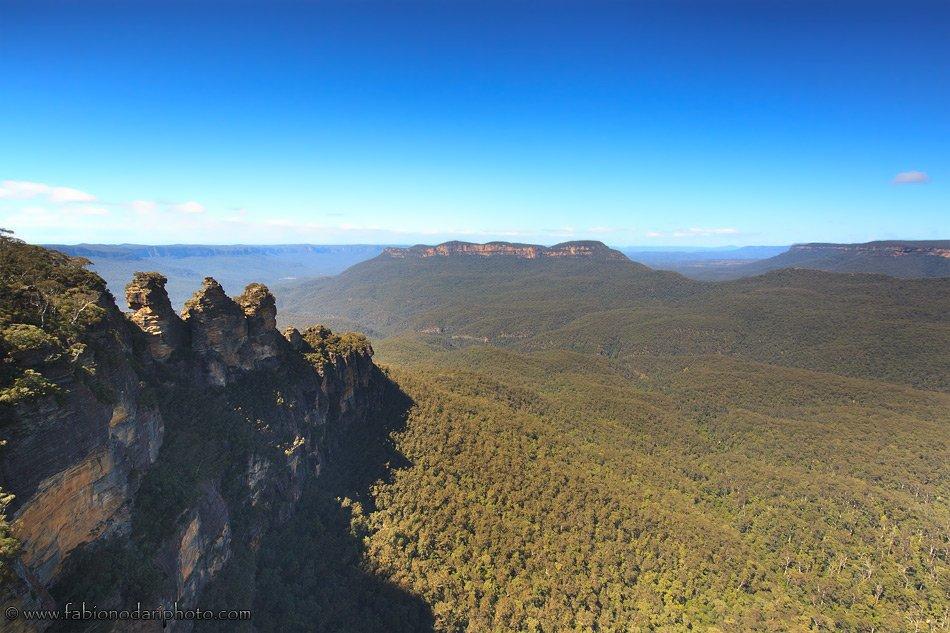 blue mountians in australia