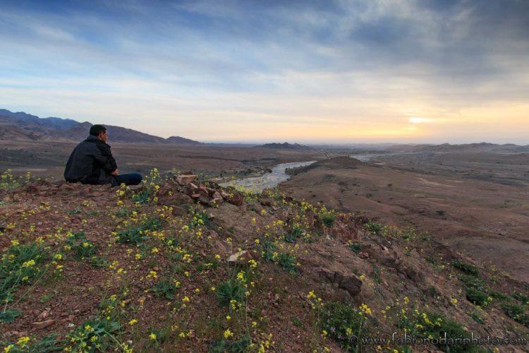 feynan sunset in jordan