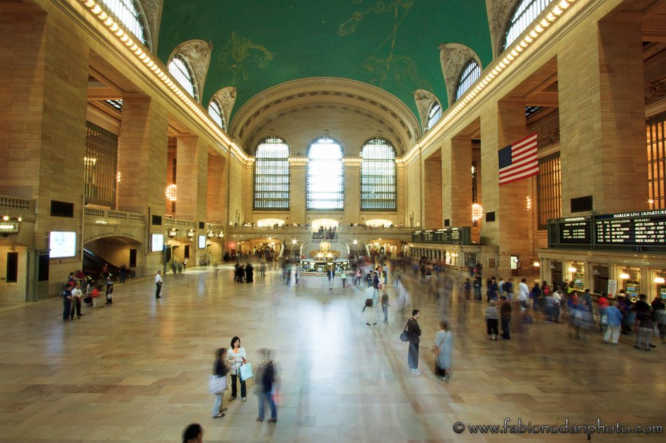 Crowd at the Grand Central Station