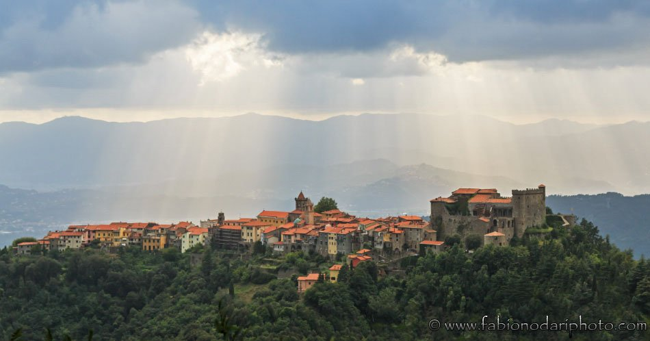 Tuscany, fortified medieval city