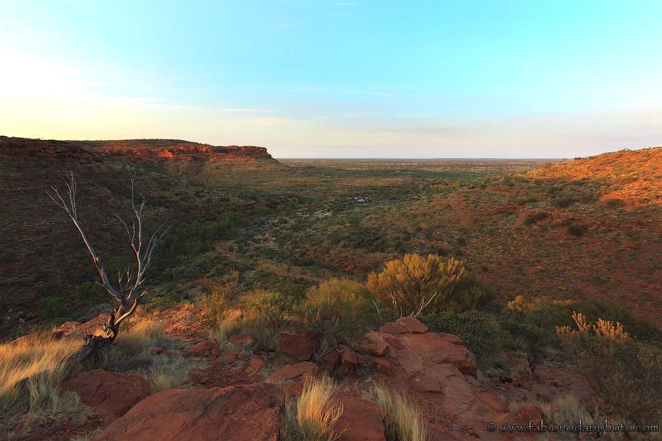 kings canyon at sunrise