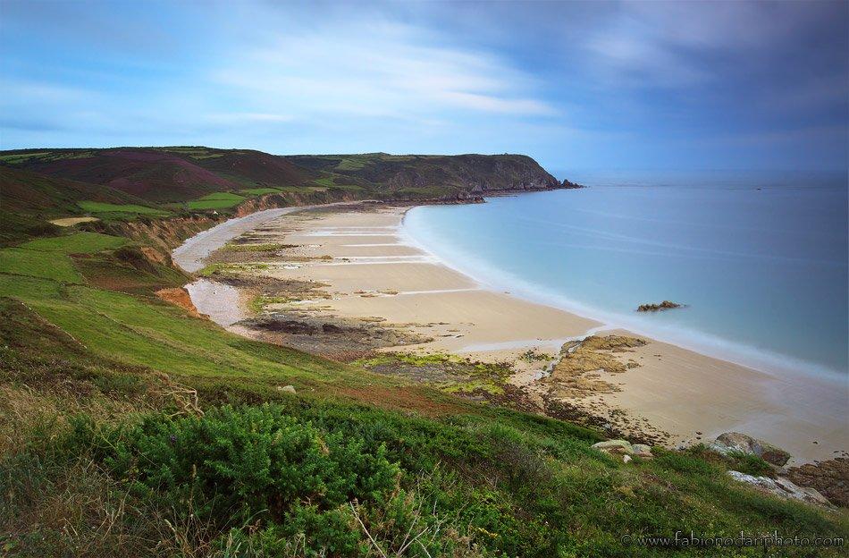 low tide in normandy
