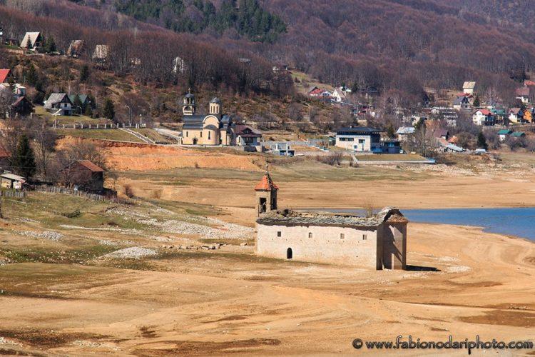 mavrovo lake in macedonia