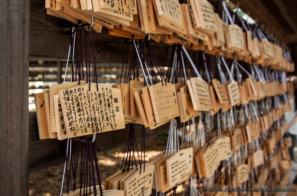 EMA japanese prayer plaques