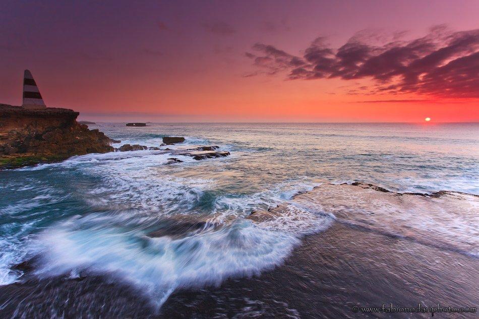 sunset over robe australia great ocean road
