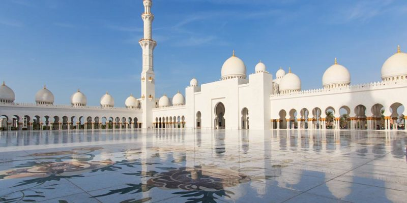 Sheikh Zayed mosque in Abu-Dhabi