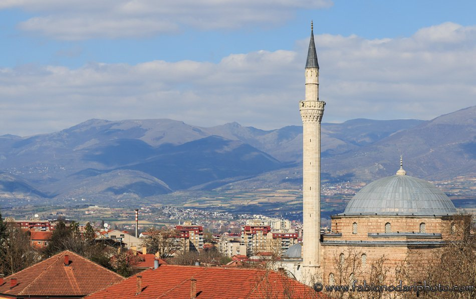 skopje mosque in macedonia