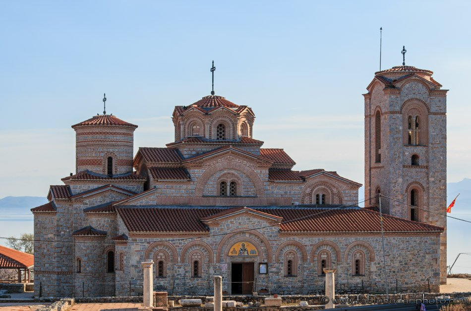 Plaosnik Or Saint Kliment Church In Macedonia