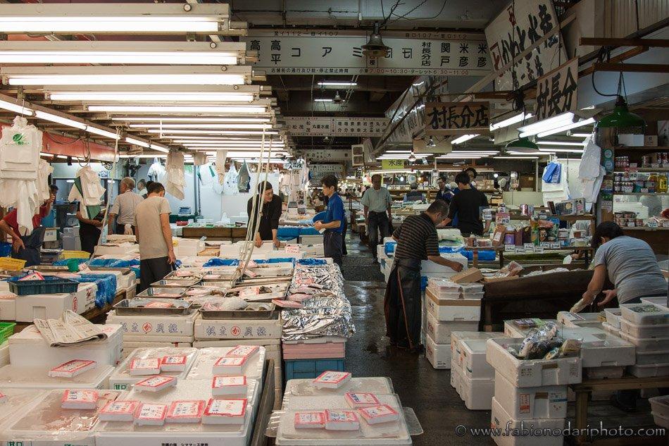 Tokyo Fishmarket of Tsukiji