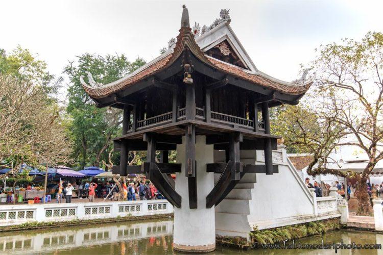 one pillar pagoda ad hanoi in vietnam