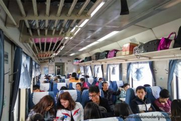 hard seat train in china