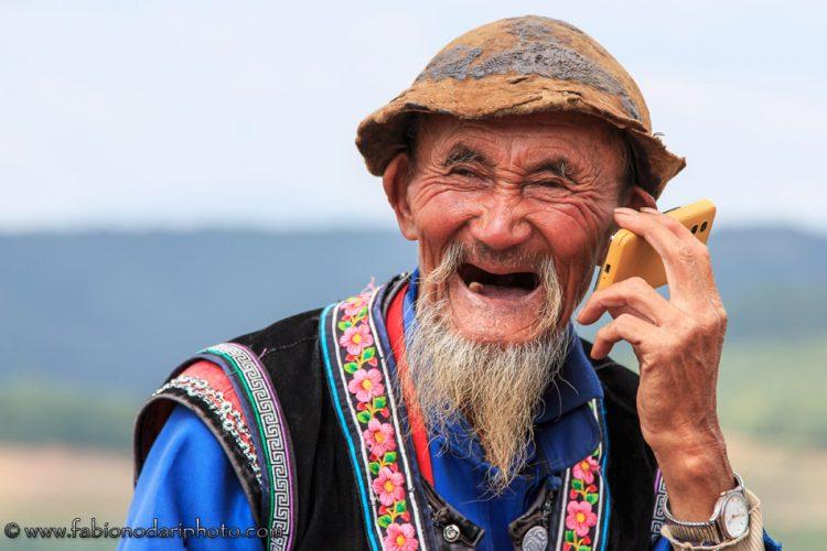 ritratto di persona anziana a dongchuan