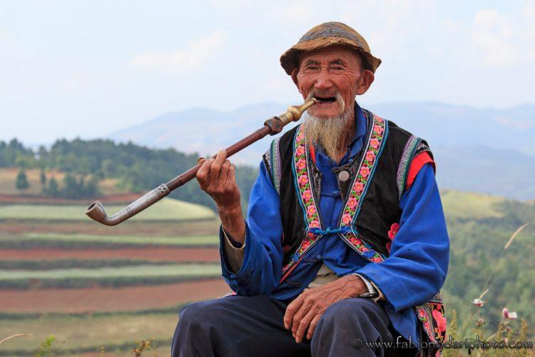 persona anziana a dongchuan