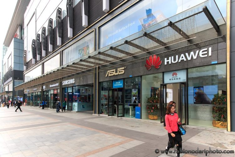smartphone stores in China shenzhen
