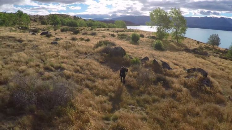 foto di elia locardi in nuova zelanda