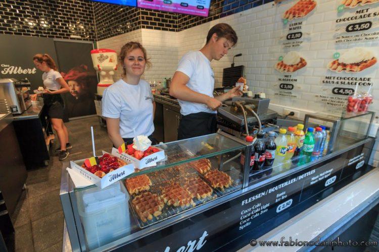 waffles in belgio