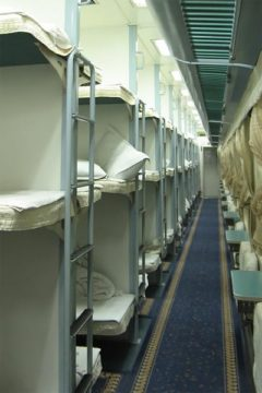 hard sleeper train in cina