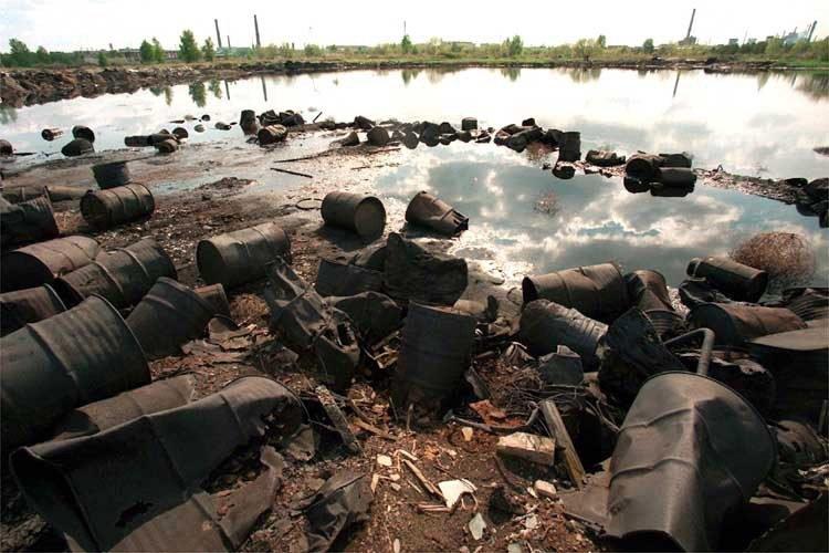 Dzershinsk pollution
