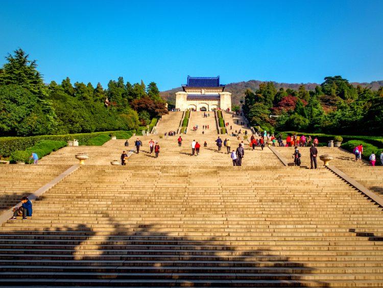 mausoleum nanjing