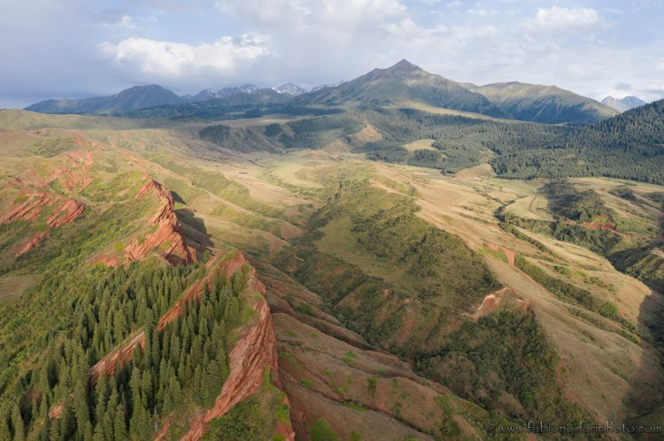landscapes kyrgyzstan