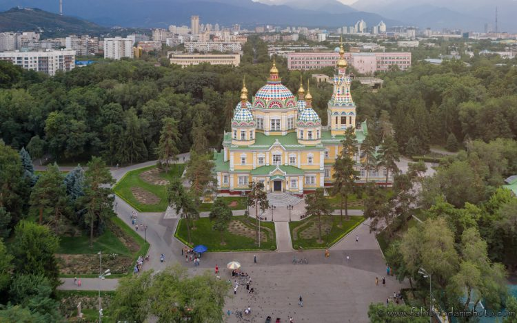 almaty cathedral