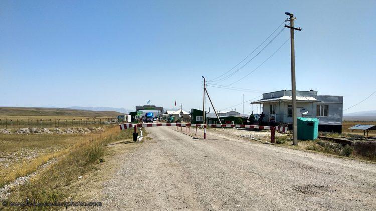 Kazakhstan-Kyrgyzstan border
