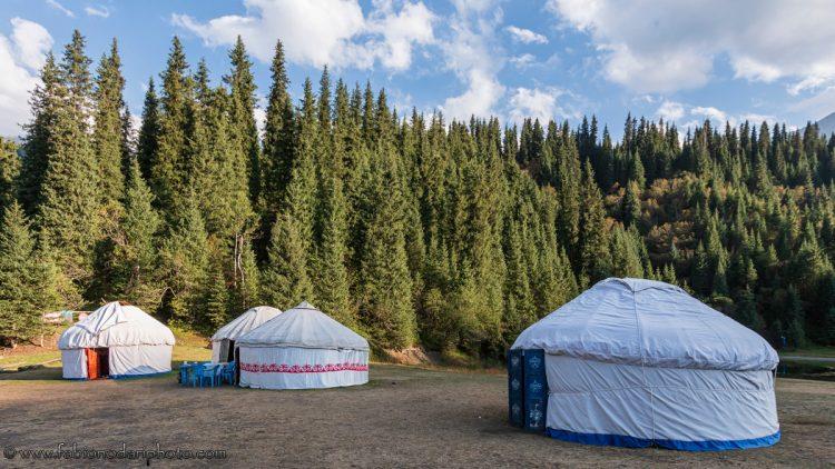yurt camp in kazakhstan
