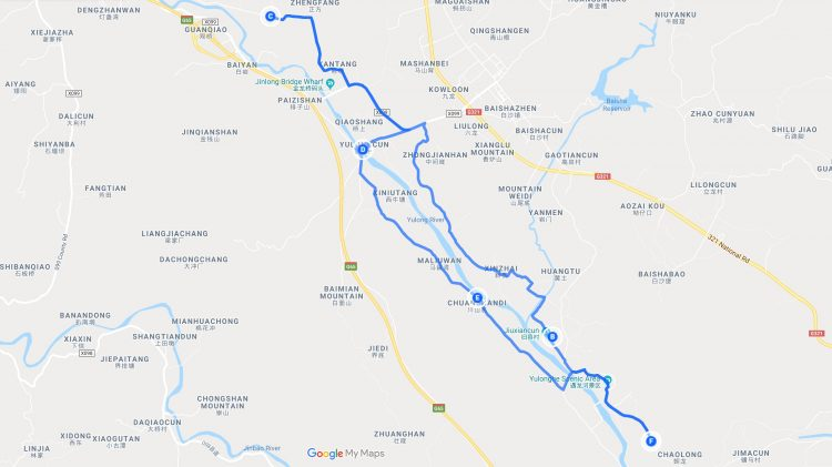 yangshuo bike itinerary